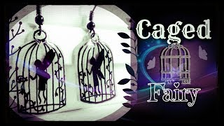 Caged Fairy   Drawing & Designing Gothic Fairies   Necklaces, Earrings & Keychains.