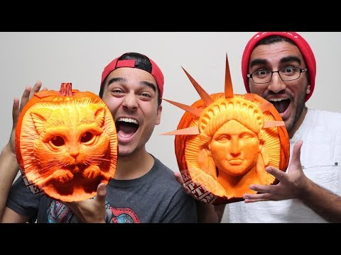 MOST AMAZING PUMPKIN CARVINGS YOU'LL EVER SEE!!!
