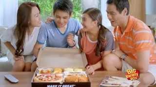 Pizza Hut New Big Variety Box...