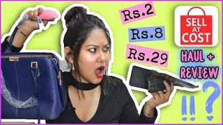 SELL AT COST HAUL 😍 Starts  Rs.2 Only  |CHEAPEST HAUL EVER! Honest Indian Review |ThatQuirkyMiss