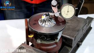 допустимый люфт турбокомпрессора. Как проверить люфт турбины?