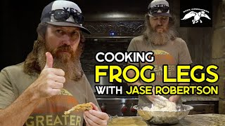 Cooking FRIED FROG LEGS with Jase Robertson