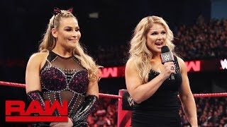 Beth Phoenix announces she is coming out of retirement at WrestleMania: Raw, March 18, 2019