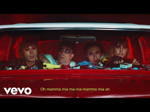 Måneskin - MAMMAMIA (Lyric Video)