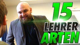 15 ARTEN von LEHRERN !
