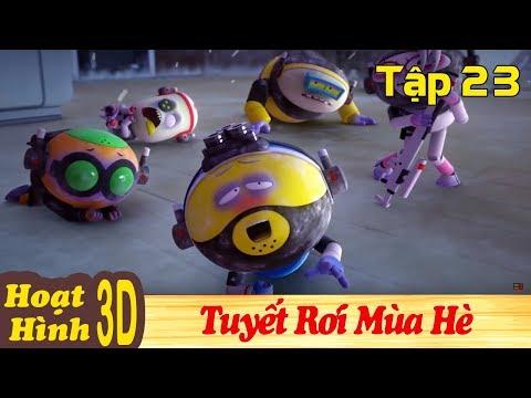 Phim Hoạt Hình Hay Nhất 2018 - TUYẾT RƠI MÙA HÈ - Binh Đoàn Người Máy T-Buster - Hoạt Hình Vui Nhộn