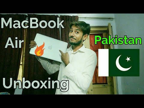 Mac Book Air Unboxing 2018 In Pakistan | Urdu And Hindi