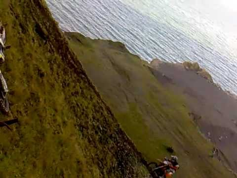 ktm 125 hill climb very steep - youtube