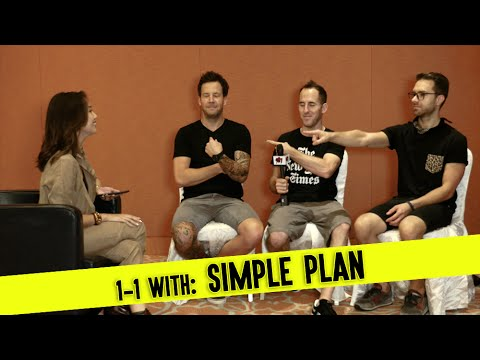Looking for a New FEMALE Band Member?! - An Interview w/ Simple Plan