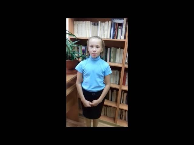 Алёна Богачук читает произведение «Первый снег» (Бунин Иван Алексеевич)