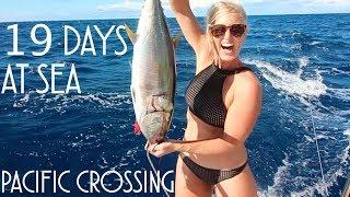 Sailing Nahoa - Pacific oversteek in 19 dagen