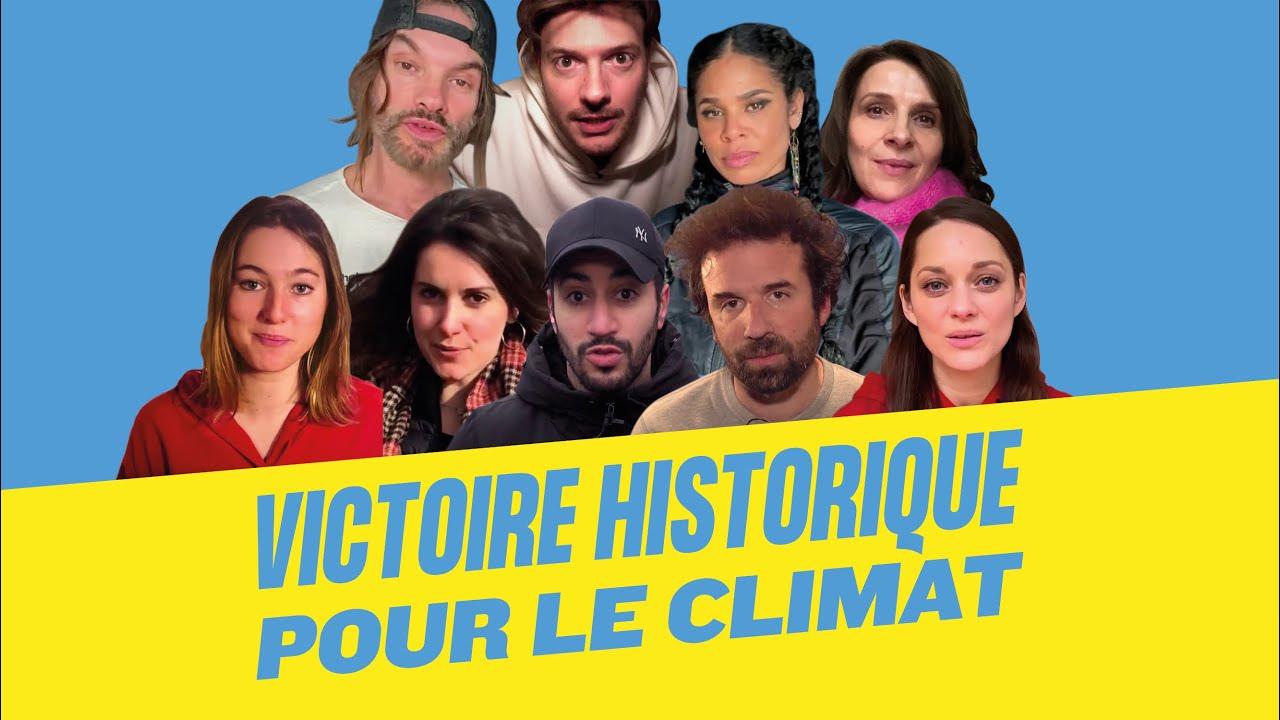 Jugement historique : l'État est condamné pour inaction climatique