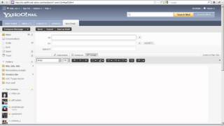 Yahoo! Mail: Composing a new mail with a screen reader