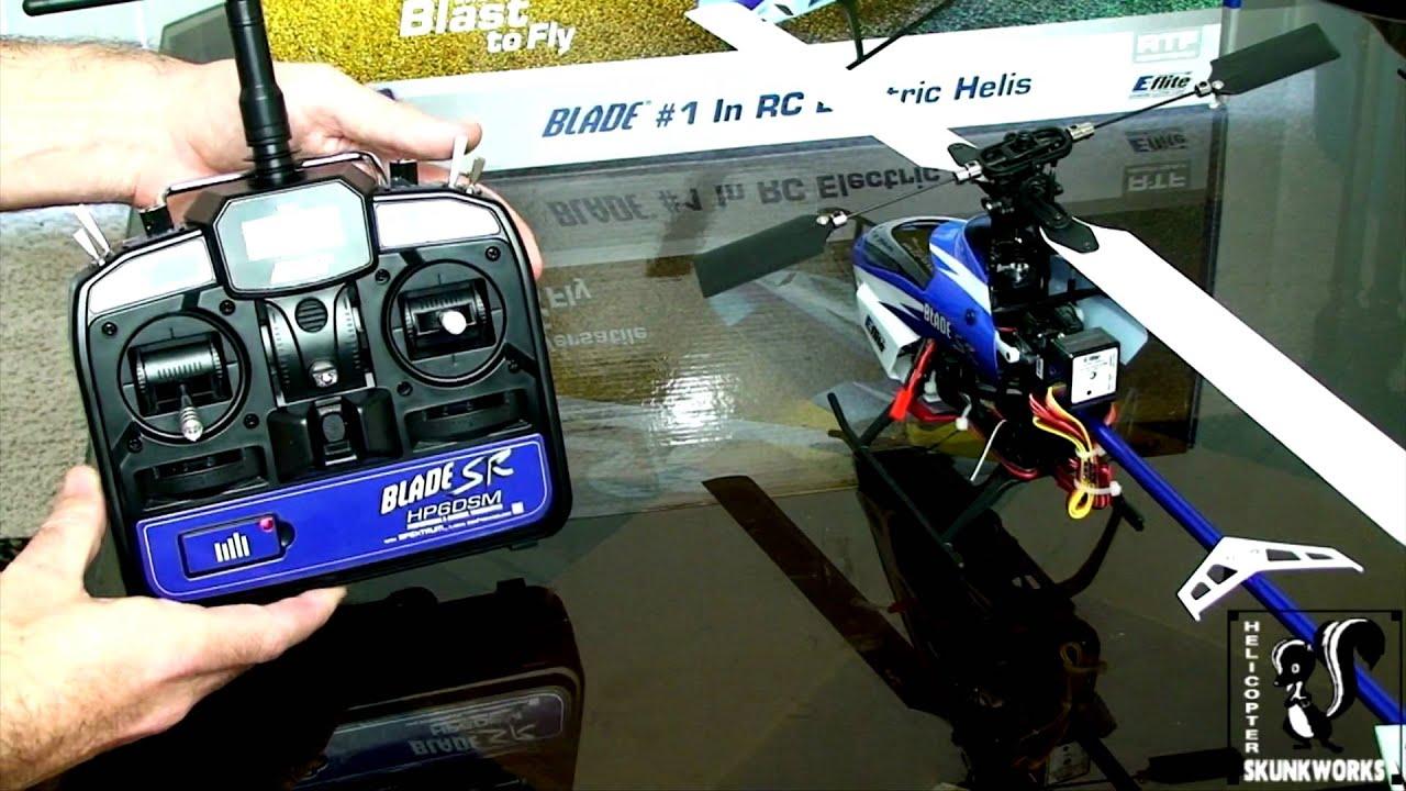 e flite blade sr setup and first flight official beginner s guide part 3 [ 1280 x 720 Pixel ]