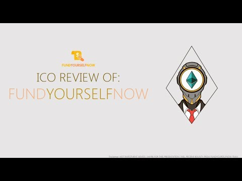 ICO Review of : FUNDYOURSELFNOW (FYN tokens, Kickstarter blockchain competitor)