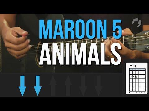 maroon-5---animals-(como-tocar---aula-de-violão)