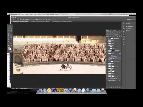 Photo manipulation - Roman Theatre Amman