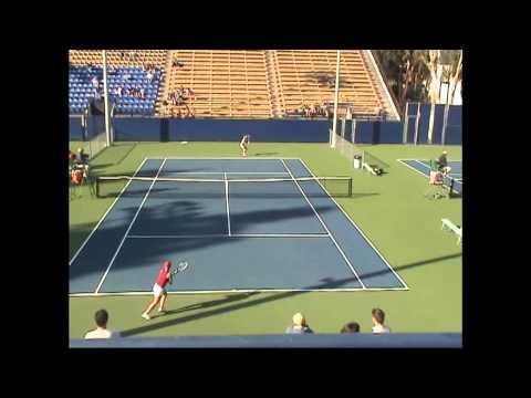03 08 2007 Lin (UCLA) Vs Fansler (USC) women's tennis SD