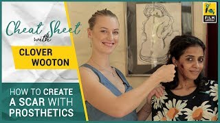 How To Get A Bruise For A Movie | Prosthetics Artist | Clover Wooton