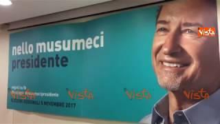 Elezioni Sicilia i primi exit poll: Musumeci in vantaggio