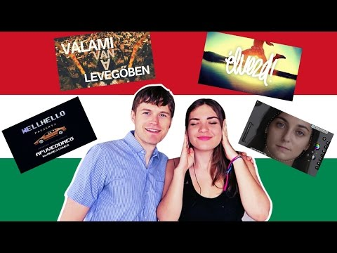 SPEAKING HUNGARIAN PART 11 🇭🇺 REACTING TO HUNGARIAN MUSIC!