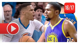 Kevin Durant vs Russell Westbrook EPIC Duel Highlights (2017.02.11) Warriors vs Thunder - MUST SEE!
