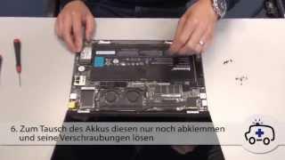 Akku Tausch beim Ultrabook Lenovo Yoga 13