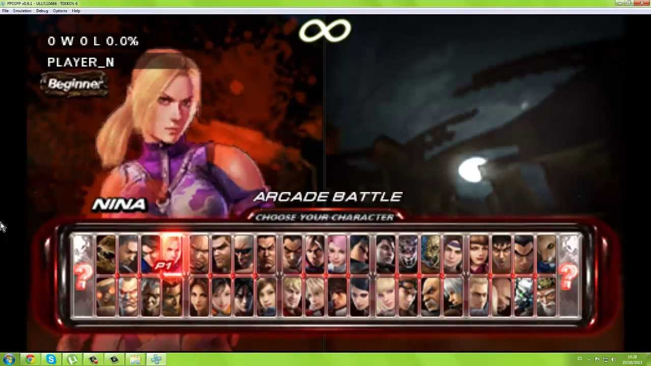 Tekken 6 pc full speed gameplay (lars) + download link iso and.