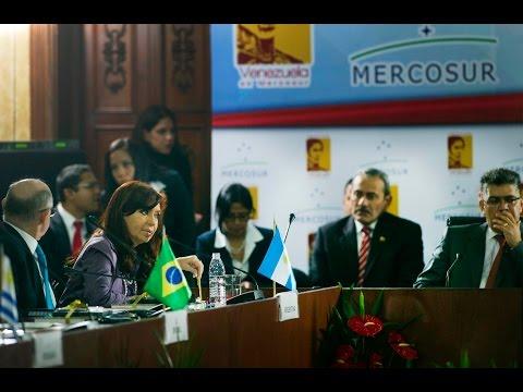 29 de JUL. Cristina Fernández en Sesión Plenaria. Cumbre Mercosur Caracas 2014.