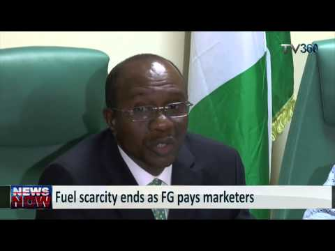 Fuel scarcity ends as FG pays marketers