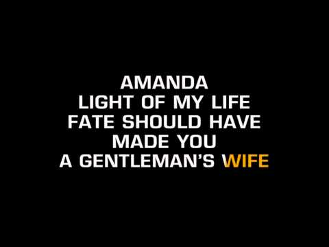 Don Williams - Amanda (Karaoke)