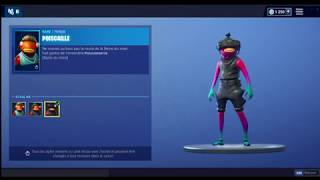 I BUY THE SKIN POISCAILLE IN THE FORTNITE CITY ROYALE !!!