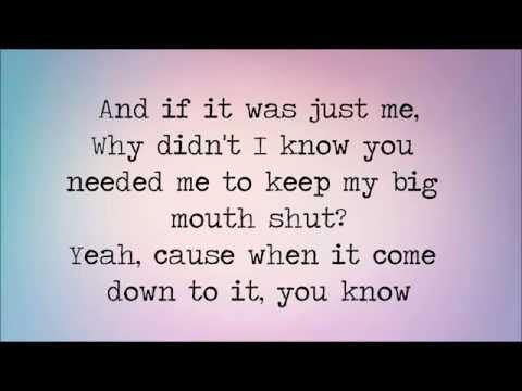 If It's Just Me ~ Hunter Hayes ~ Lyrics