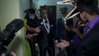 Красивая свадьба 2013 (оригинальный выкуп невесты в венецианском стиле)