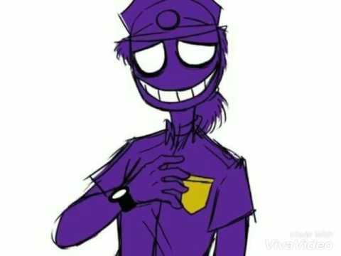 Фиолетовый Человек-Я знаю точно наперед,сегодня кто нибудь умрет!(Заказ)