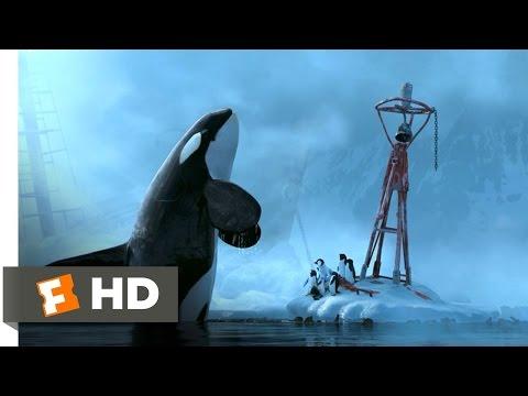 Happy Feet (7/10) Movie CLIP - Killer Whale Attack (2006) HD