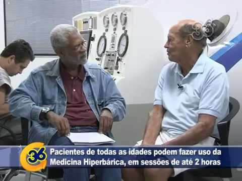 Video GIRO 36 ESPECIAL SAÚDE | CLÍNICA HIPERBÁRICA DE VOLTA REDONDA (RJ) - RELATO DE CASO, por Canal 36 VR