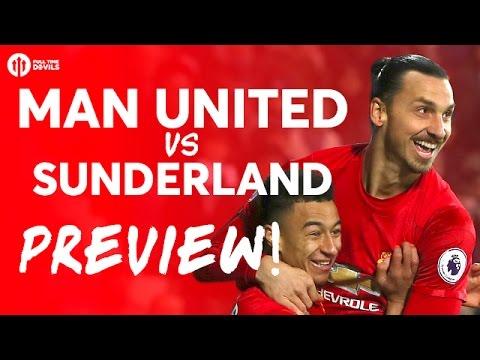 Manchester United vs Sunderland DAVID MOYES RETURNS! PREVIEW