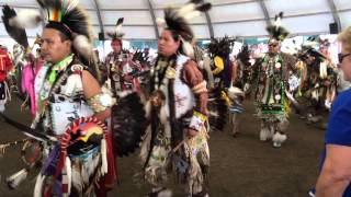 Enoch Pow wow 2015 grand entry