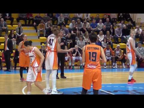 "Women's European Basketball League 2016/2017. BC UMMC - BC ""Familia Schio"""