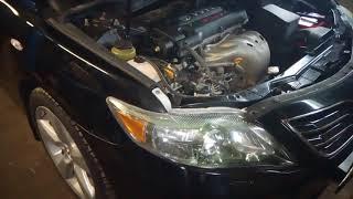 XADO EX120 в ГУР Toyota Camry 40 2 AZ-FE