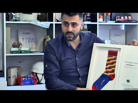 Флаг Армении спустился в носки.
