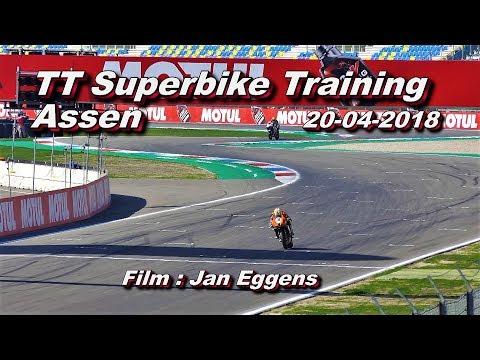 TT Superbike training Assen 20 04 2018