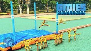 Cities: Skylines - Campus — Студенческий спорт!