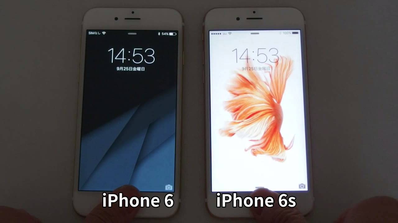 iphone 6 v 6s iphone 6s vs iphone 6 touchid speed test 15104