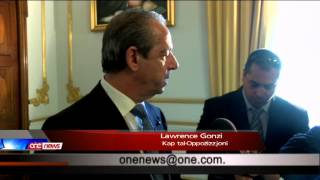 Lawrence Gonzi jieħu l-ġurament ta' Kap tal-Oppożizzjoni