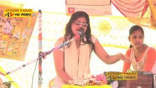 Gambar cover देवकी शास्त्री का नये कृष्ण भजन मे झटके Devaki shastri