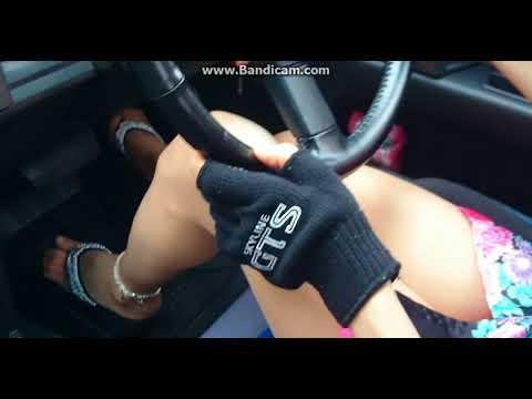 スカイライン R31の女  夏浴衣 R31運転動画