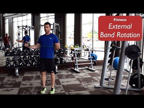Fitness|External Band Rotation|Short
