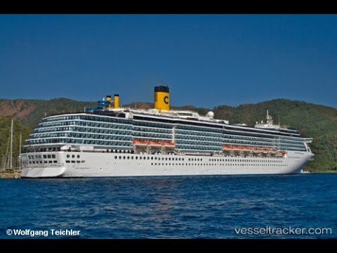 Costa Mediterranea Tour 4K Ultra HD Cruises Ship Tour Greek Islands